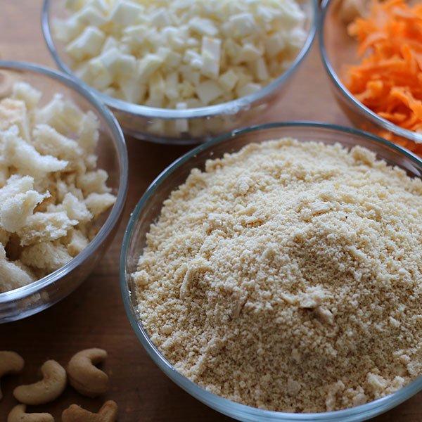 Cashew-Braten Zutaten