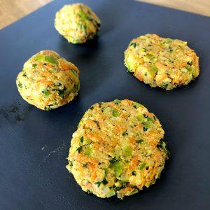 Käse-Gemüse-Schnitzel Bratlinge