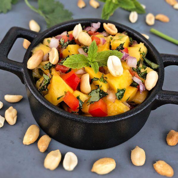 Asiatischer Mango-Salat