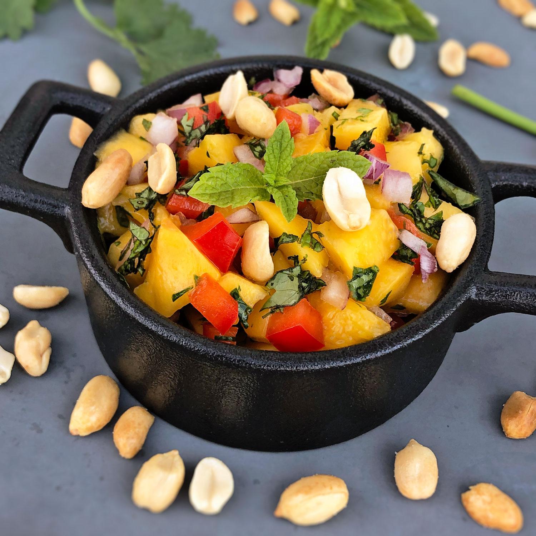 Mango-Paprika-Salat