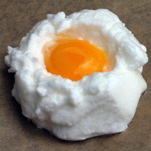 cloud eggs zubereitung