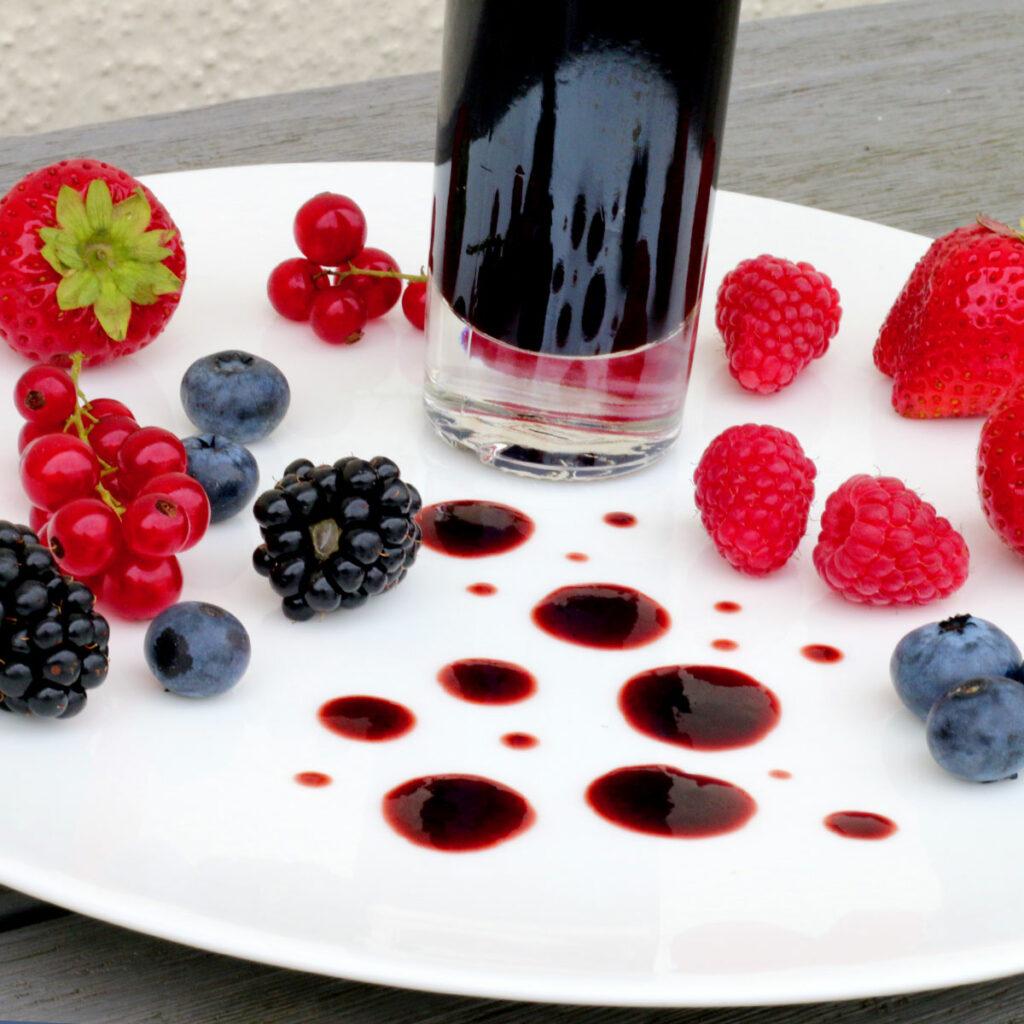 Waldfrucht-Crema di Balsamico