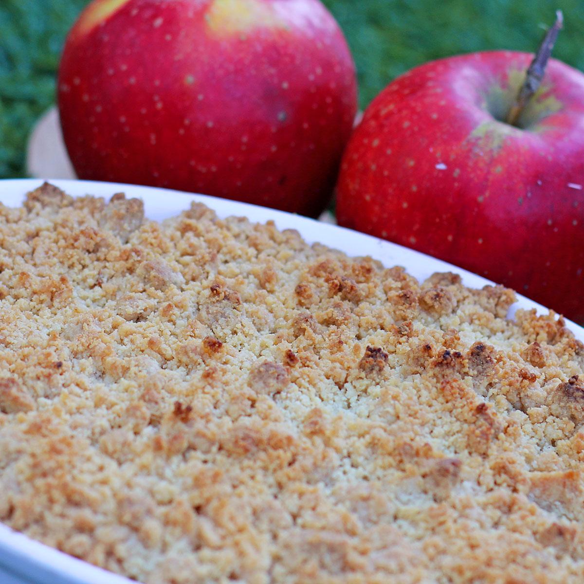 Apple Crumble | Apfel-Streuselkuchen