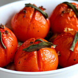 Balsamico-Tomaten aus dem Backofen