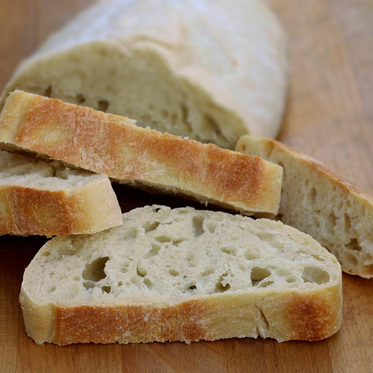 Ciabatta – italienisches Baguette