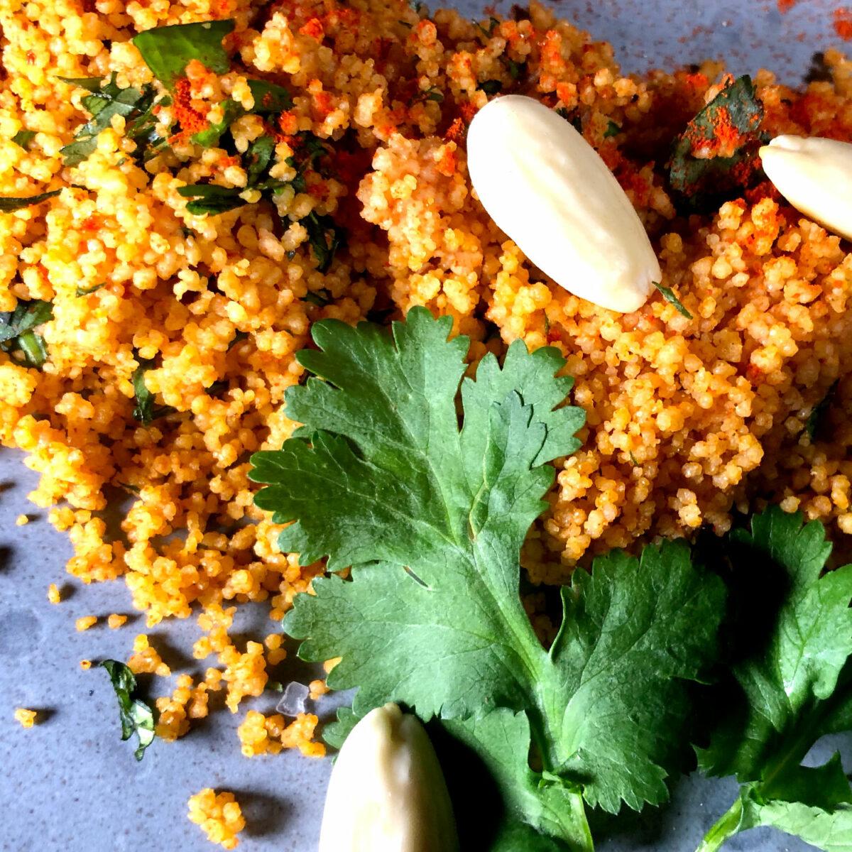 Couscous orientalisch gewürzt