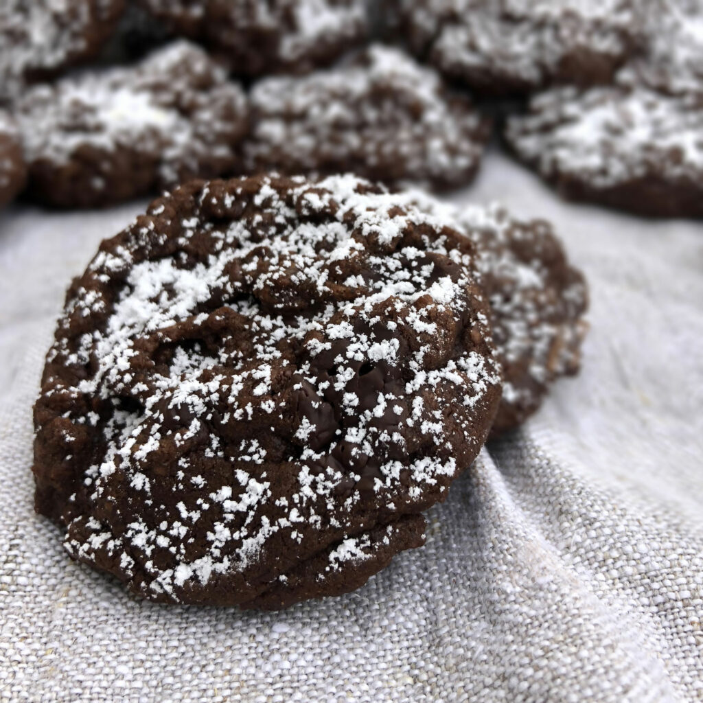 Double Chocolate Cookies | Weihnachtskekse