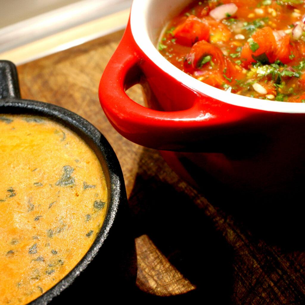 Shrimps New Orleans | gewürzte Butter & Tomatensalsa