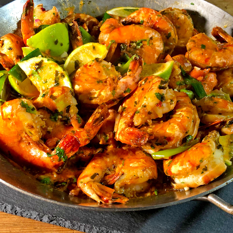 Shrimps New Orleans Style