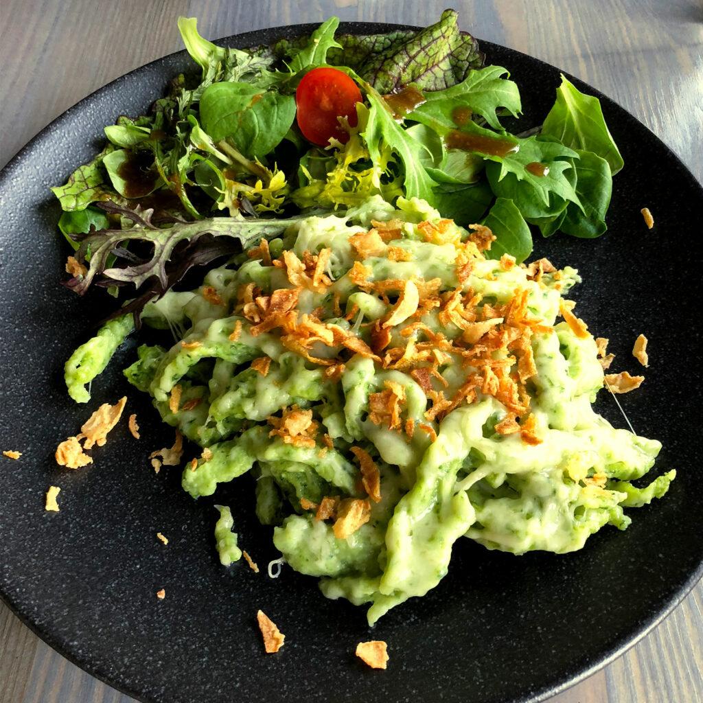 Bärlauch-Käse-Spätzle