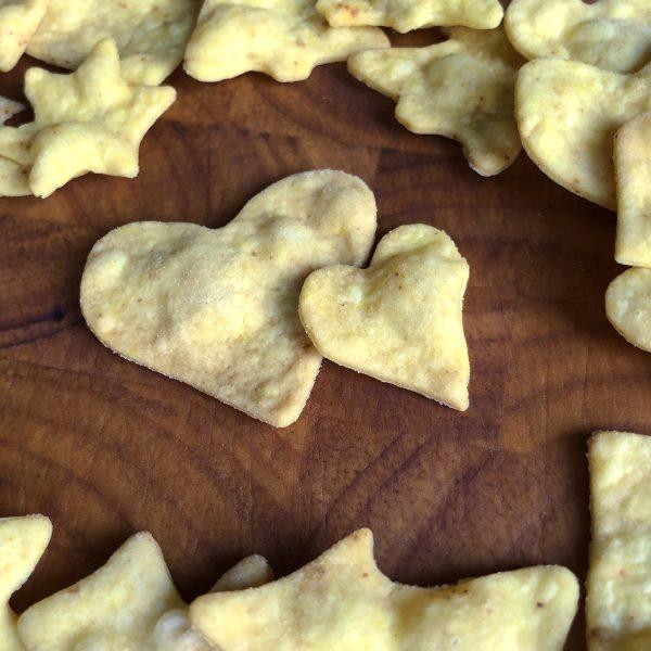 Herzhafte Weihnachtskekse oder Cracker selbstgebacken