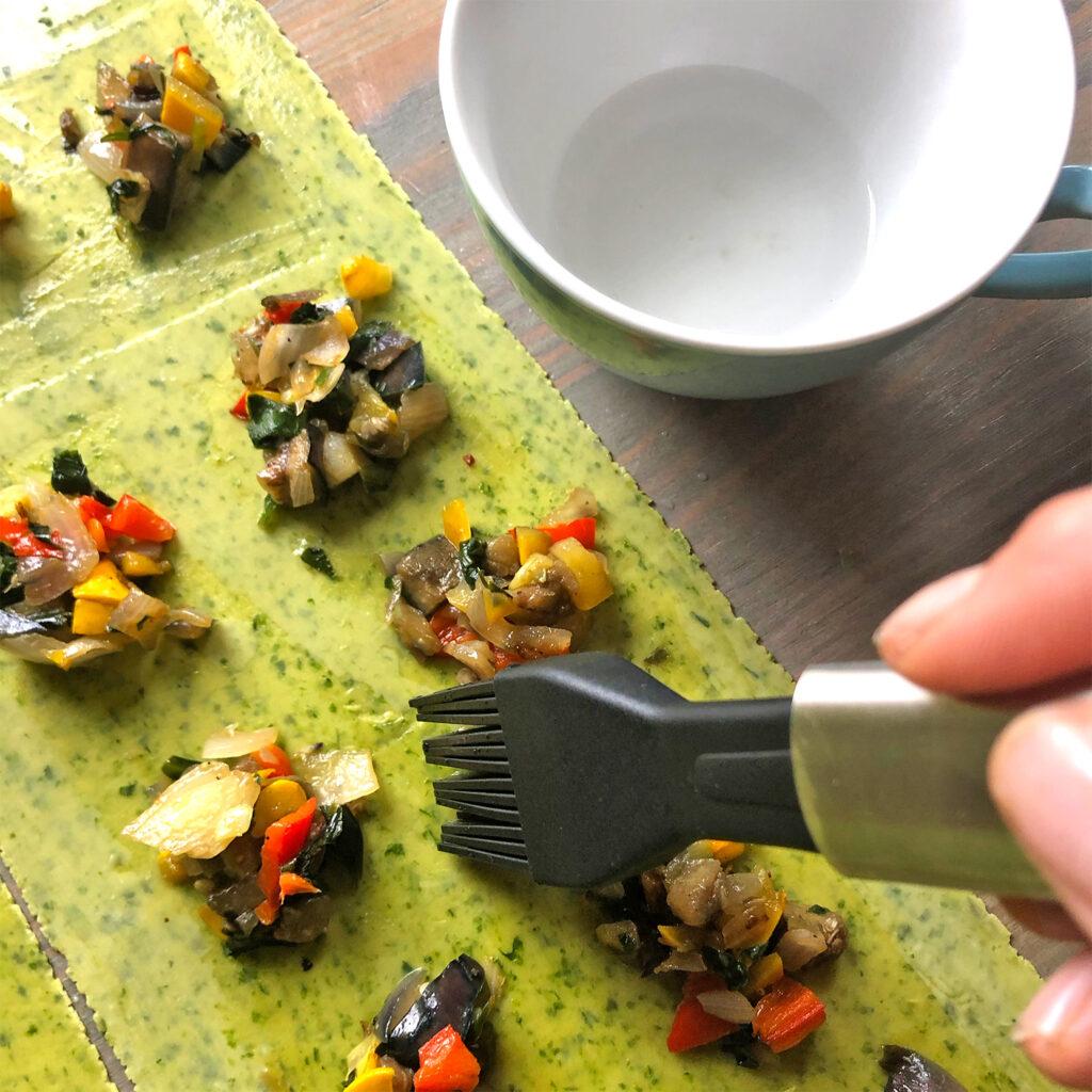 Bärlauch-Ravioli formen | Koch für 2!