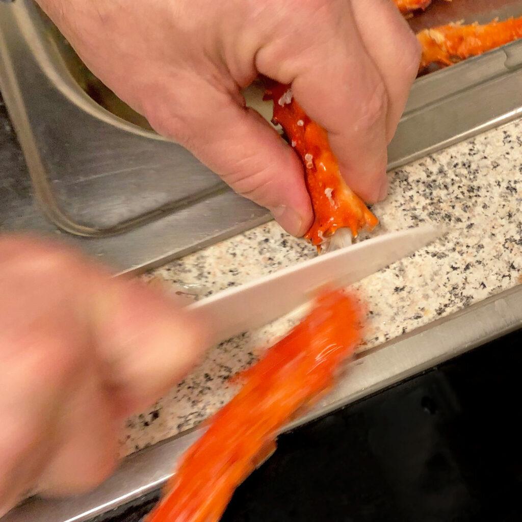 King Crabs zerteilen | Koch für 2!