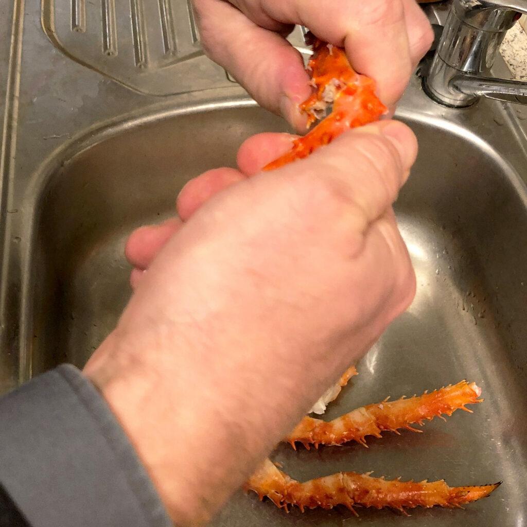 Königskrabben vorbereiten | Koch für 2!