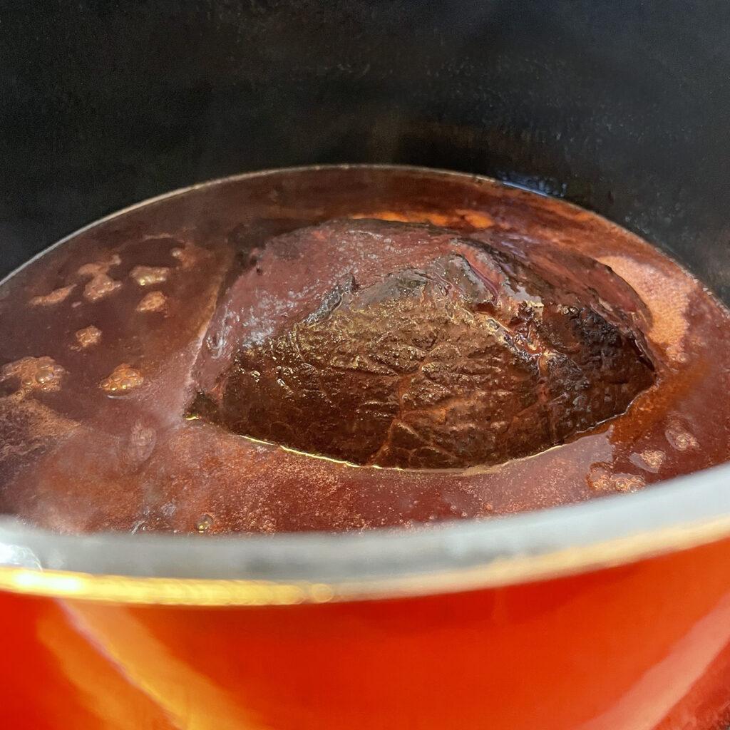 Sauerbraten schmoren | Koch für 2!