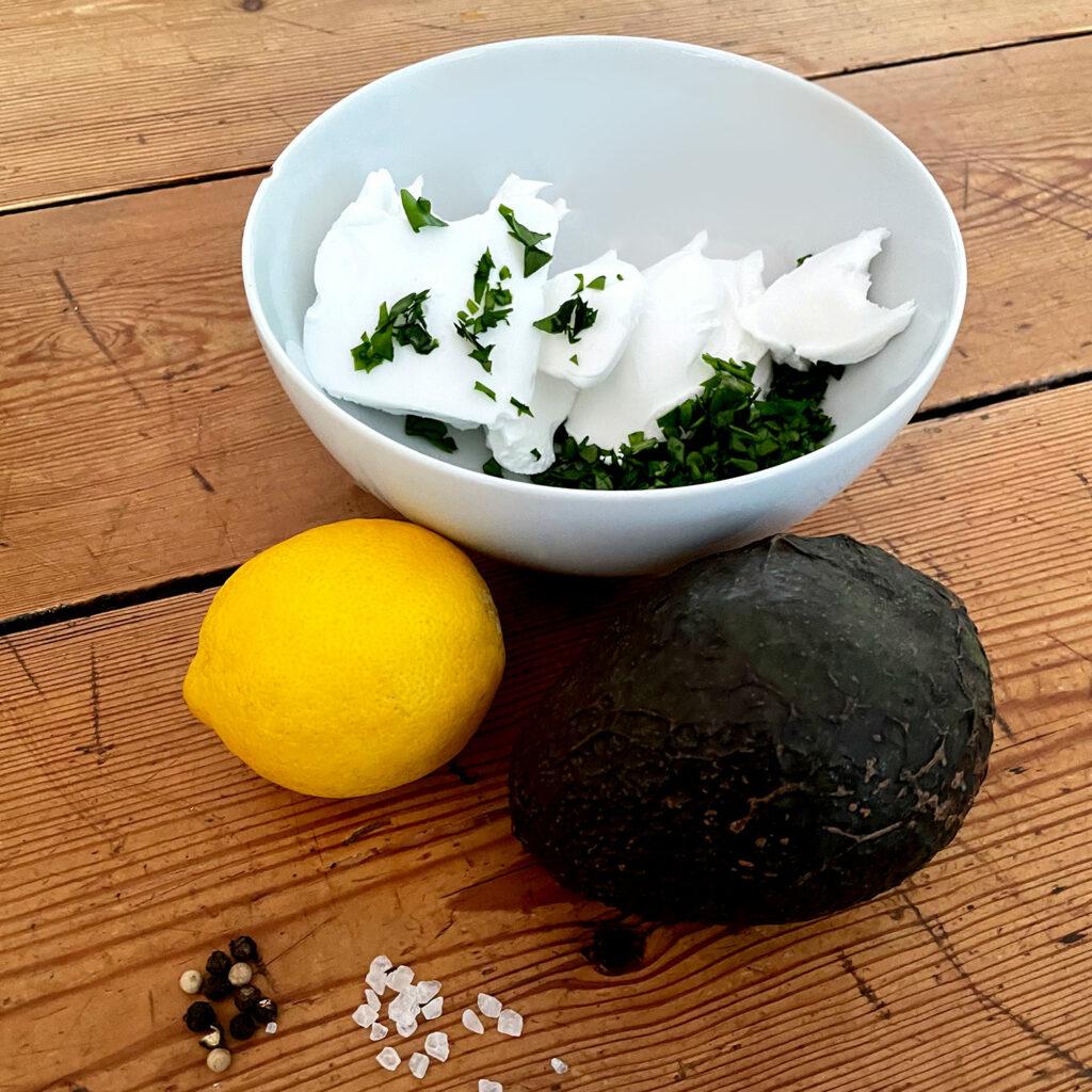 Bärlauch-Avocado-Creme, Frühstücksaufstrich | Koch für 2!