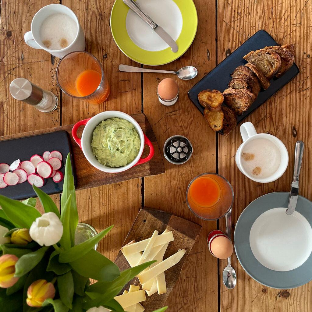 Bärlauch-Creme, Sonntagsfrühstück | Koch für 2!