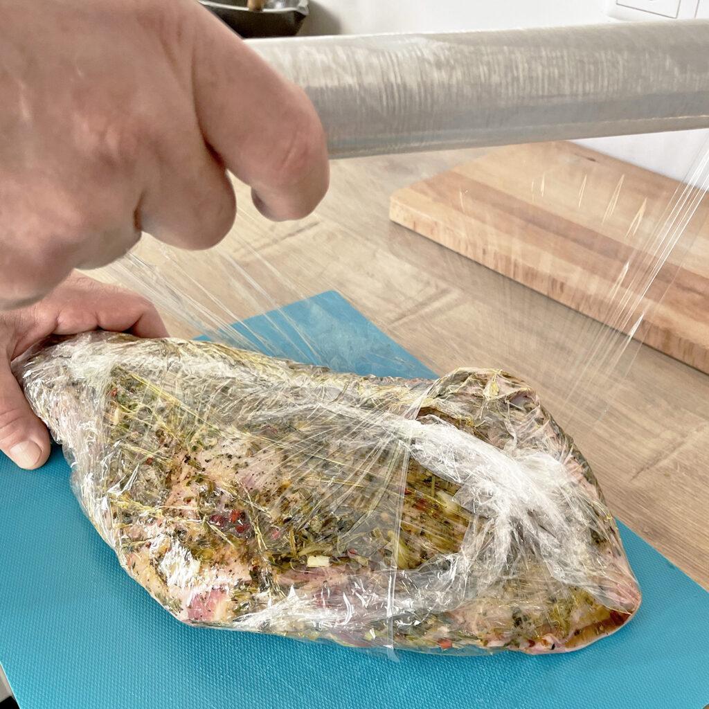 Lamm marinieren und Einpacken | Koch für 2!