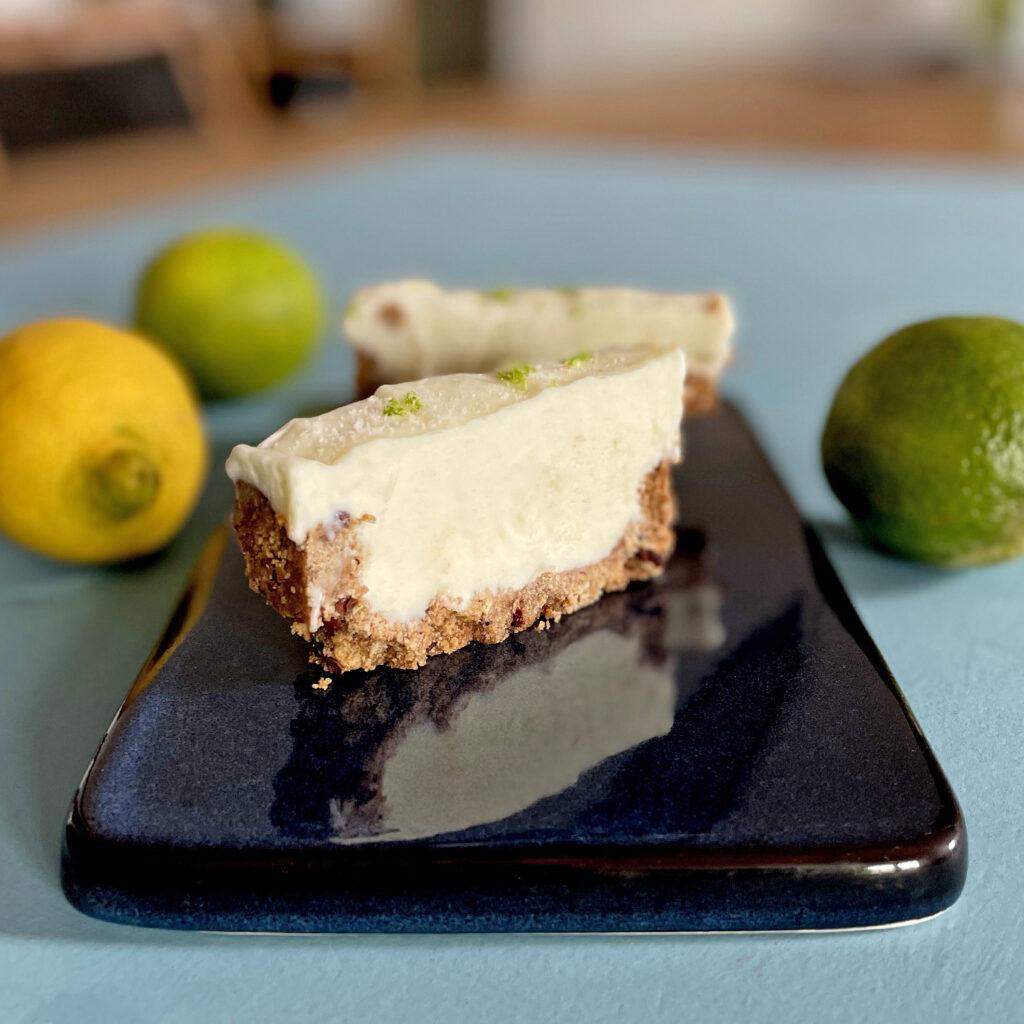Limettentarte Rezept ohne Backen | Koch für 2!