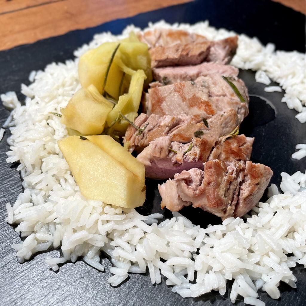 Rhabarber-Schwein | Koch für 2!