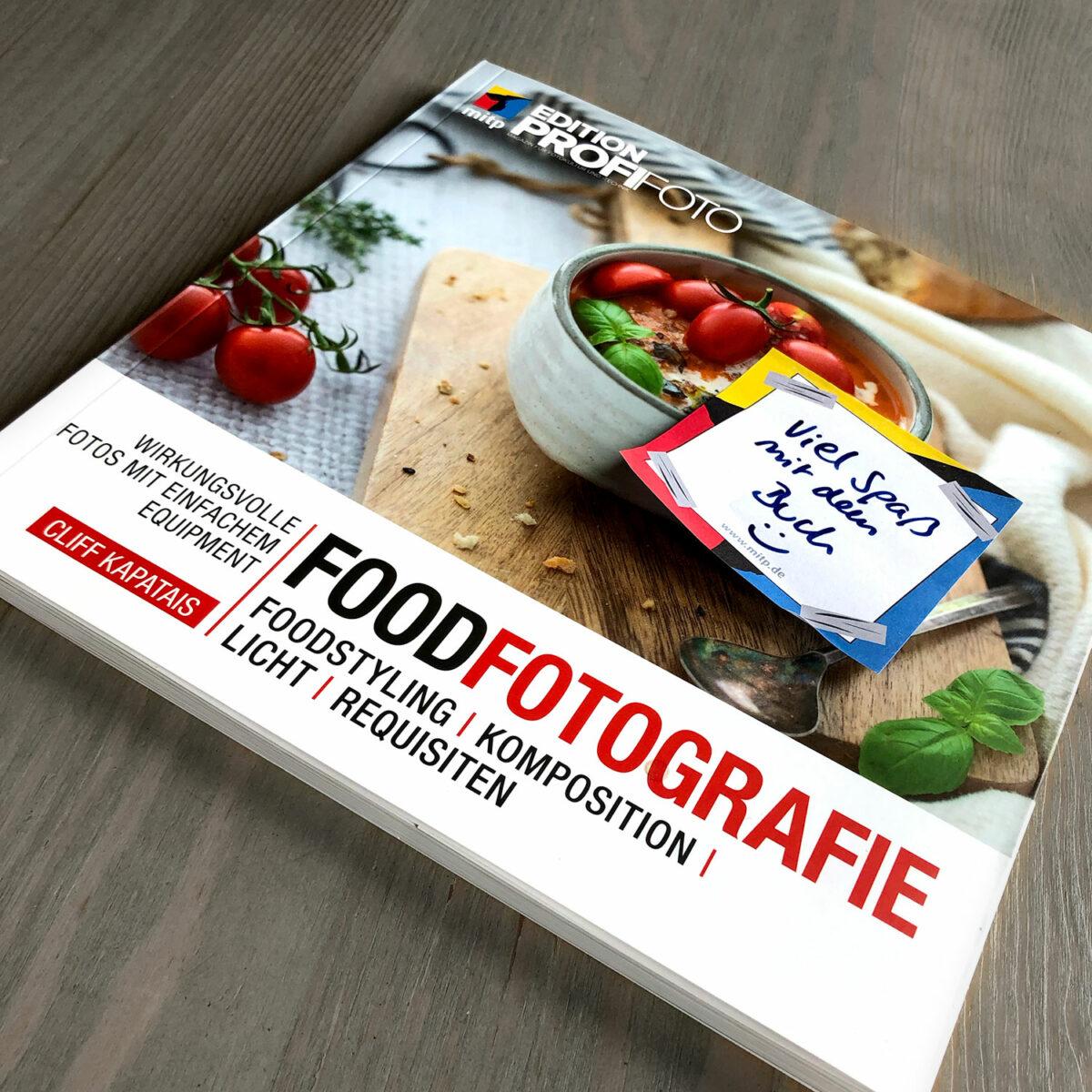 """Rezension zu """"FoodFotografie"""" von Cliff Kapatais"""